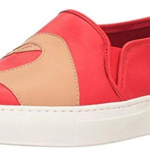 Katy Perry Heart Love Sneakers Cherry Red Shoes